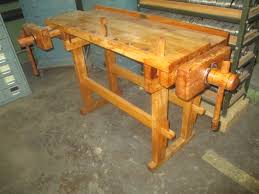 1627 385 Antique Hammacher Schlemmer Co Woodworkers Bench