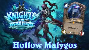 hearthstone hollow malygos knights of the frozen throne rogue