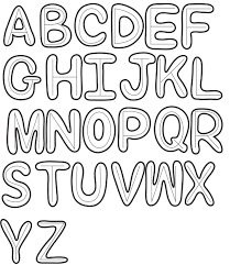 How to Draw Bubble Letters in Easy Step by Step Drawing Tutorial for