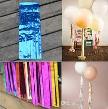 Shiny Tissue Paper Tassel Garland Diy Wedding Birthdays Party Decoration Flower Event Gift Pack Supplies Kids