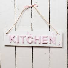 Retro Kitchen Signs