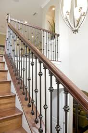 Bakerfield Luxury Homes Wrought Iron Stairs   Home Decor And ... 78 Best Stairs In Homes Images On Pinterest Architecture Interior Stair Banisters Railings For Residential Building Our First Home With Ryan Half Walls Vs Pine Modern Banister Styles Unique And Creative Staircase Designs 20 Hodorowski Foyers And The Stairs Are A Fail But The Banister Is Bad Ass Happy House Baby Proofing Child Safe Shield 77 Spindle Handrail Best 25 Split Entry Remodel Ideas Netting Safety Net Gallery