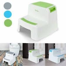 details zu kinder tritt stuhl toilettentraining zwei tritthocker anti rutsch hocker 3 farbe