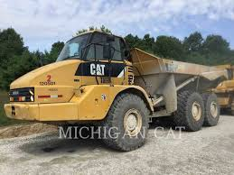 100 Articulated Truck 2007 Caterpillar 725 For Sale 8346 Hours
