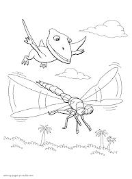 Free Printable Pteranodon Dinosaurus Coloring Books For Kids