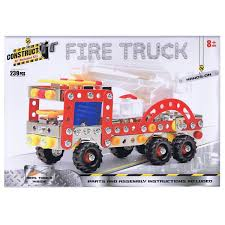 100 Fire Truck Model Kits Construct It Mechanical Building Kit At Toy Universe