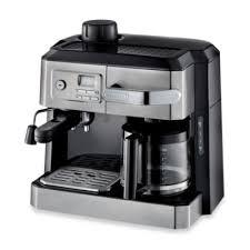 DeLonghi BCO330T Combination Steam Espresso Drip Coffee Cappuccino And Latte Machine In Silver