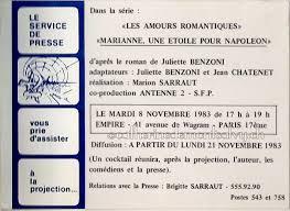 chambre d h e romantique marianne une étoile pour napoléon la famille benzoni sarraut