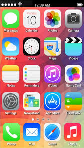 Fake IPhone 5S launcher v1 2 for Android Download