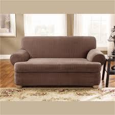 15 Rv Jackknife Sofa Cover by Two Piece Sofa Slipcover For T Cushion Centerfieldbar Com