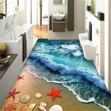 beibehang home bathroom bedroom floor self adhesive 3d