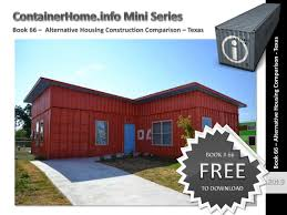 100 Container Homes Texas Shipping Book 66 By Shippingcontainerhomes