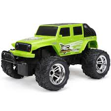 Shop New Bright Full-function Rechargable Jeep Wrangler - Ships To ... New Bright 143 Scale Rc Monster Jam Mohawk Warrior 360 Flip Set Toys Hobbies Model Vehicles Kits Find Truck Soldier Fortune Industrial Co New Bright Land Rover Lr3 Monster Truck Extra Large With Radio Neil Kravitz 115 Rc Dragon Radio Amazoncom 124 Control Colors May Vary 16 Full Function 96v Pickup 18 44 Grave New Bright Automobilis D2408f 050211224085 Knygoslt Industries Remote Rugged Ride Gizmo Toy Ff Rakutencom