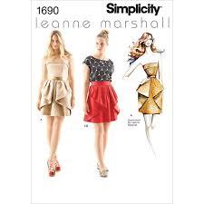 Amazoncom Simplicity Leanne Marshall Pattern 1690 Misses Dress