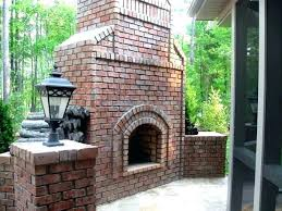 Brick Fireplace Plans Outdoor Fireplace Designs Brick Brick