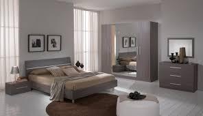 miroir de chambre glorino miroir 80 cm chambre à coucher coloris chêne gris modiva