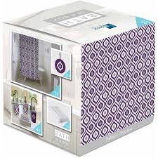Walmart Purple Bathroom Sets by Indecor Home Bath In A Box 18 Piece Bathroom Set Choctaw Purple