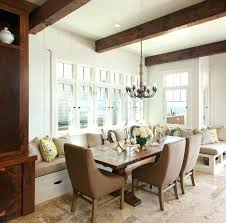 Dining Room With Bench Seating Storage Benches Marvellous Built In