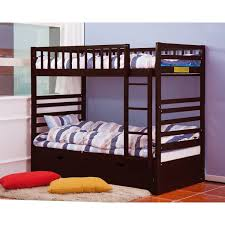 merax twin over twin bunk bed with trundle reviews wayfair