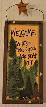 Rustic Country Wood Plaque Sign Decoration With A Metal Wire For Hanging 5 1 2