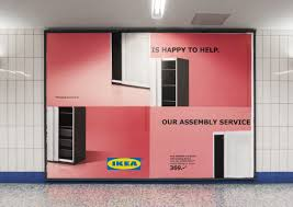 Ikea Brusali Wardrobe Assembly Video by Ikea Outdoor Advert By Thjnk Assembly Fail Wardrobe Ads Of