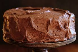 The Perfect Marble Cake With Whipped Chocolate Buttercream