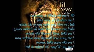 Remarkable Mirror On The Wall Lil Wayne Hq Lyrics Youtube