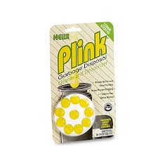 plink 10 count garbage disposal cleaner and deodorizer in lemon