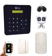 alarme maison sans fil gsm sécurité mania