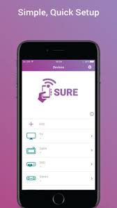 SURE Universal Smart TV Remote on the App Store