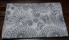Coloring Cafe Book Pouch Gony Adult Anti Stress Therapy Art Item Number 321883047763