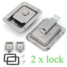 Stainless Steel Paddle Door Lock Latch Handle Truck Tool Box Trailer ... Custom Truck Tool Boxes Highway Products Box In A Short Bed Trucks Trailers Rvs Toy Haulers Ipdent Lock Box Vault Buy 49 Alinum Pickup Atv Camper Trailer Flatbed Rv Titan 30 Bed W Shop Weather Guard 30125in X 18125in 1825in Black Steel Truck Tool Boxes For Sale Organizer Taillock Roll Up Door Security System Bpwaycom Tools 2019 Frontier Colors Photos Nissan Usa 3049 Flat Camp Industrial Xs Alinium Toolbox Side With 2 Drawer Storage