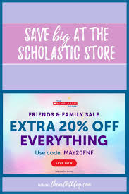 Save 20% On Everything At The Scholastic Store - Coupon Code Inside ... Scholastic Book Clubs Getting Started Parents Reading Club December 2016 Hlights Book Clus Horizonhobby Com Coupon Code Maximizing Orders Cassie Dahl Teaching Coupon Background Vector Reading Club Codes Schoolastic Clubs Free Shipping Ikea Ideas And A Freebie Mrs Gilchrists Class New This Year When Parents Spend 25 Or Scholasticcom Promo Codes August 2019 50 Off Discount Backtoschool Basics Pdf January 2018 Xxl Nutrition