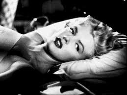 marilyn monroe bed gif find share on giphy