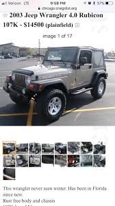 Official Craigslist Thread   Jeep Wrangler TJ Forum Finds In The Classifieds Hot Rod Network Craigslist Indiana Wwwtopsimagescom Indy 500 Rarity 1979 Ford F100 Official Truck Replica Chevrolet Ck For Sale Nationwide Autotrader The Dirty Bakers Dozen The10kchallenge Boyd Automotive Hendersonville Nc Asheville Columbus Creative Indylostpetalert Reuniting Lost Pittie Seen Found Pets East Rare Rides This Racy Oldsmobile Bravada Kept Pace At Atlanta Fine Cars New Car Updates 2019 20