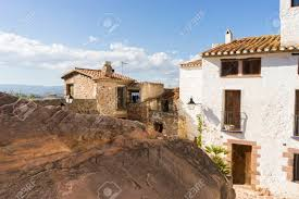 Обои Испания Peniscola Castellon Ночь Побережье Уличные 3840x2160