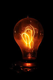 why and how did the electric light bulb become the early onset