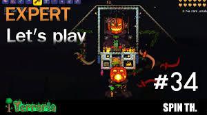 Pumpkin Moon Terraria by Terraria 1 3 Expert Let U0027s Play ฟาร ม Pumpkin Moon ท ด 34 Youtube