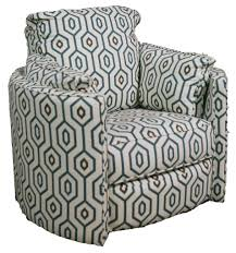 Ryder Transitional Reclining Swivel Chair by Klaussner