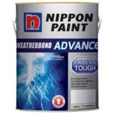 Nippon Weatherbond Advance Exterior Paint White 4 Ltr Amazonin