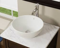 Where Are Decolav Sinks Made by V2200 Bisque Bisque Porcelain Vessel Sink