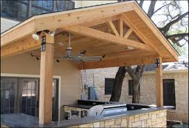 Joyous Patio Cover Plans Diy DIY Covered Parr Lumber Barn
