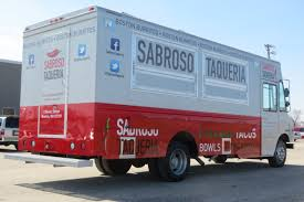 Mexican Food Truck-Sabroso Tequeria Built By APEX Specialty Vehicles