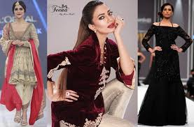 Latest Designs Of Pakistani Party Wear Dresses 116