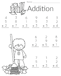 First Grade Printable Worksheets Kids Learning Activities Free Math For