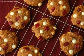 Pumpkin White Chocolate Chip Scones by Pumpkin White Chocolate Cranberry Cookies A Kitchen Addiction