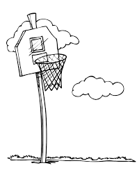 Basketball Coloring Pages 3