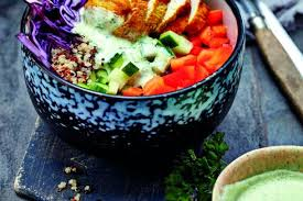 weight watchers rezept bunte quinoa bowl mit dressing