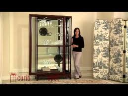 pulaski model 20661 curio cabinet youtube