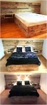 Pallet Bed Frame by 657 Best Camas Images On Pinterest Pallet Beds Pallet Furniture
